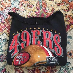 🏈 49ers Vintage oversized sweatshirt